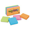 Post-it Notes Super Sticky Note Pads in Electric Glow Colors, 2 x 2, 8 90 Sheet Pads/Pack