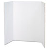 Spotlight Presentation Board, 48 x 36, White, 24/Carton