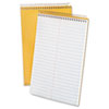 Ampad Spiral Steno Book, Gregg Rule, 6 x 9, 15 lb, White, 70 Sheets