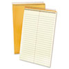 Ampad Spiral Steno Book, Gregg Rule, 6 x 9, 15 lb, Green Tint, 80 Sheets