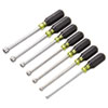 "7-Piece Cushion-Grip Nut Driver Set, 6-Point SAE, 3/16"" to 1/2"