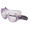 Classic Safety Goggles, Antifog/Uvextreme Coating, Clear Frame/Clear Lens