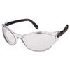 Bandido Safety Eyewear, Frameless, Clear Lens, Nylon/Polycarbonate