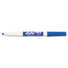 EXPO Low Odor Dry Erase Marker, Fine Point, Blue, Dozen