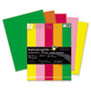 Astrobrights Colored Card Stock, 65 lbs., 8-1/2 x 11, Assorted, 250 Sheets