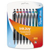 Paper Mate InkJoy 550 RT Ballpoint Pen, 1.0 mm, Assorted Ink, 8/Pk