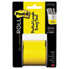 Full Adhesive Label Roll, 2 x 400, Yellow, 1/Roll