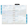 Coastlines Dated Two-Page-per-Week Organizer Refill, 5-1/2 x 8-1/2, 2013