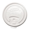 Plastic Lids for Hot Drink Cups, 12 &amp; 16 oz., White, 1000/Carton