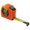 Hi-Viz Series 1000 Power Return Tape Measure, 3/4in x 12ft, Engineer's Scale