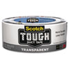 Scotch Tough Duct Tape - Transparent, 1.88