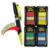 "Flags Value Pack, Assorted Colors, 200 1"" Flags, Highlighter/Pen w/50 flags"