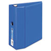 "Heavy-Duty Binder with One Touch EZD Rings, 5"" Capacity, Blue"