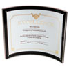 Superior Image Magnetic Certificate Holder, Plastic, 8-1/2 x 11, Black/Clear