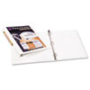 Avery Antimicrobial View Binder w/One-Touch EZD Rings, 1
