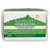 Seventh Generation 100% Recycled Single-Ply Luncheon Napkins, 11 1/2 x 12 1/2, White, 250/Pack