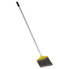Brute Flagged Broom, Poly Fill, Gray