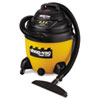 Industrial Wet/Dry Vacuum, 18gal, 6.5 Peak HP
