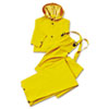 Three-Piece Rain Suit, 5X-Large, 35 Mil, PVC/Polyester