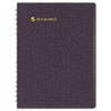 Eight-Person Group Practice Daily Appointment Book, 8-1/2 x 11, Black, 2014