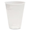 Translucent Plastic Hot/Cold Cups, 7oz, 100/Bag, 25 Bags/Carton