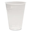 Translucent Plastic Hot/Cold Cups, 10oz, 100/Pack