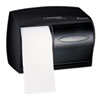 KIMBERLY-CLARK PROFESSIONAL* Double Roll Coreless Tissue Dispenser, 11 1/10 x 6 x 7 5/8, Smoke/Gray