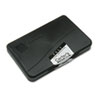 Carter's Felt Stamp Pad, 4 1/4 x 2 3/4, Black