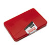 Carter's Micropore Stamp Pad, 4 1/4 x 2 3/4, Red