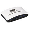 Tripp Lite 4-Port USB 3.0 Mini Hub, White
