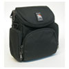 Camcorder/Digital Camera Case, Nylon, 7-1/8 x 4-1/8 x 7-1/4, Black