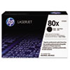 HP 80X, (CF280X) High Yield Black Original LaserJet Toner Cartridge