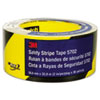 3M Caution Stripe Tape, 2w x 108 ft. Roll
