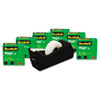 Scotch Magic Tape Value Pack with C38 Dispenser, 3/4