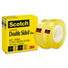 Scotch 665 Double-Sided Office Tape, 1/2