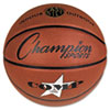 "Composite Basketball, Official Junior, 27.75"", Brown"