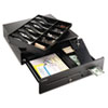 SteelMaster High-Security Cash Drawer, 18 x 16 3/4 x 4 3/4, Black
