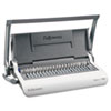 Fellowes Star 150 Manual Comb Binding Machine, 17 11/16 x 9 13/16 x 3 1/8, White