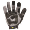 General Utility Spandex Gloves, 1 Pair, Black, Medium