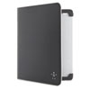 Belkin E9T002C00 Smooth Bi-Fold Folio for iPad 2/3, Black BLKE9T002C00 BLK E9T002C00