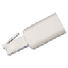 Rotating 360 Telephone Cord Detangler, White