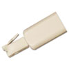Rotating 360 Telephone Cord Detangler, Almond