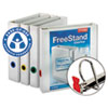 Cardinal EasyOpen FreeStand Binder With Locking Slant-D Rings, 1-1/2