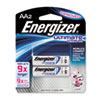 Energizer e� Lithium Batteries, AA, 2 Batteries/Pack
