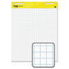 Self-Stick Easel Pads, Quad Rule, 25 x 30, White, 2 30-Sheet Pads/Carton