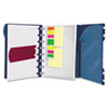 Ampad Versa Crossover Notebook, Wide Ruled, 9 x 7-1/4, Navy, 60 White Sheets