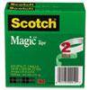 """Scotch Magic Tape, 3/4"""" x 2592"""", 3"""" Core, 2/Pack"""