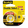 "665 Double-Sided Office Tape w/Hand Dispenser, 1/2"" x 250"