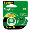 "Magic Tape w/Refillable Dispenser, 1/2"" x 450"", Clear"