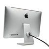 SafeDome™ Secure for iMac, 6ft Steel Cable, Black